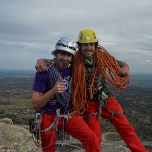 Los madrileños Javier Gumzán y Rafa Gómez