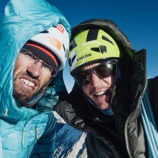 Hansjörg Auer y Alex Blümell ascienden Gimmigela East  (TNF)
