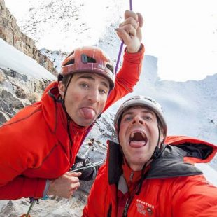 Ueli Steck y Jonathan Griffith (Col. J. Griffith)