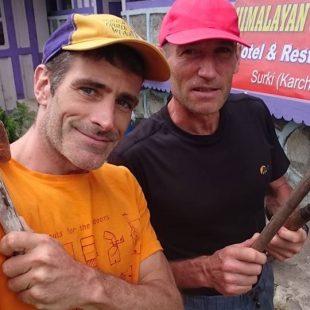 Mariano Galván y Alberto Zerain (©Mariano Galván)