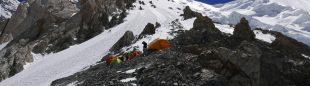 Primer tramo de ascensión al Broad Peak  (Foto: Òscar Cadiach)