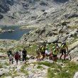 El difícil regreso de la expedición de Pronisa por el camino de los Barrerones.  (Pronisa)