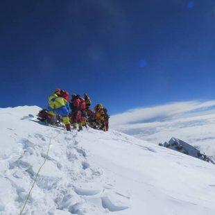 Mingma Gyalje Sherpa y su expedición