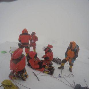 Supuesta foto de cima al Broad Peak de Fredrik Sträng  (Col. F. Sträng)
