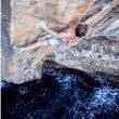 Chris Sharma en el psicobloc 'Big fish' 8c+/9a en Sóller (Mallorca)  (Joao Giacchin)