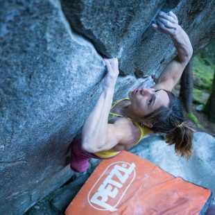 Alex Puccio en New base line 8B+