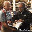 Pedro Nicolás y Juanjo San Sebastián en la Librería Desnivel