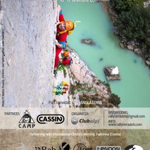 Cartel del 8º Rally 12h Escalada Terradets
