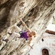 Angela Eiter en Zauberfee 8c+. Arco (Italia)  (Martin Hanslmayr / Red Bull)