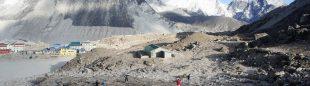 Zona donde se construirá la planta de biogás del Everest  (Foto: UIAA)