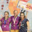 Podio femenino de la primera prueba de la Copa de España de Bloque 2017  (Darío Rodríguez)