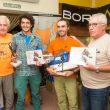 Ganadores categoría masculina Rally 12h Leiva 2017  (Club Montañero Murcia)