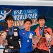 Copa del Mundo de Escalada de Dificulad 2017 en Xiamen  (Eddie Fowke)