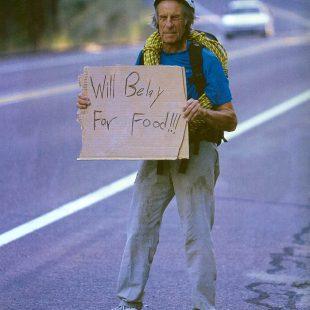 El escalador americano Fred Beckey (©Fred Beckey)