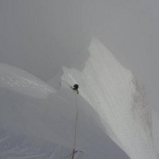 Yury Koshelenko y Alexey Lonchinsky durante su ascensión al Phungi Peak. Octubre 2017  (Col. Y. Koshelenko)