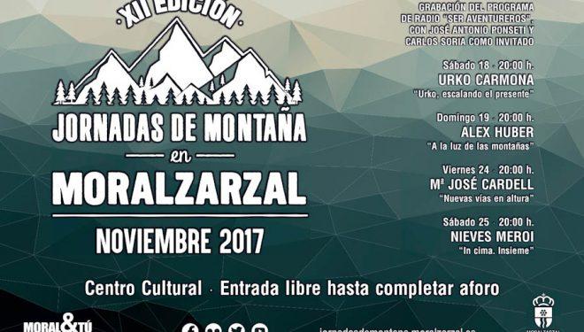 Cartel promocional de las Jornadas de Montaña de Moralzarzal 2017  ()