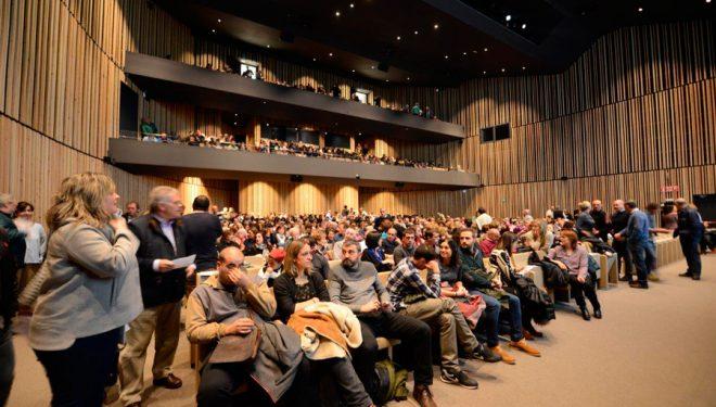 El Palacio de Congresos de Europa (Vitoria) reunió a más de 800 personas en el homenaje a Alberto Zerain  (Sebastian Álvaro)