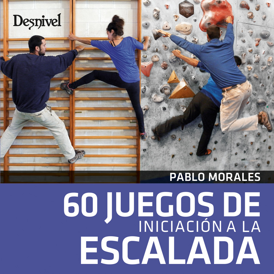 60 juegos de iniciación a la escalada