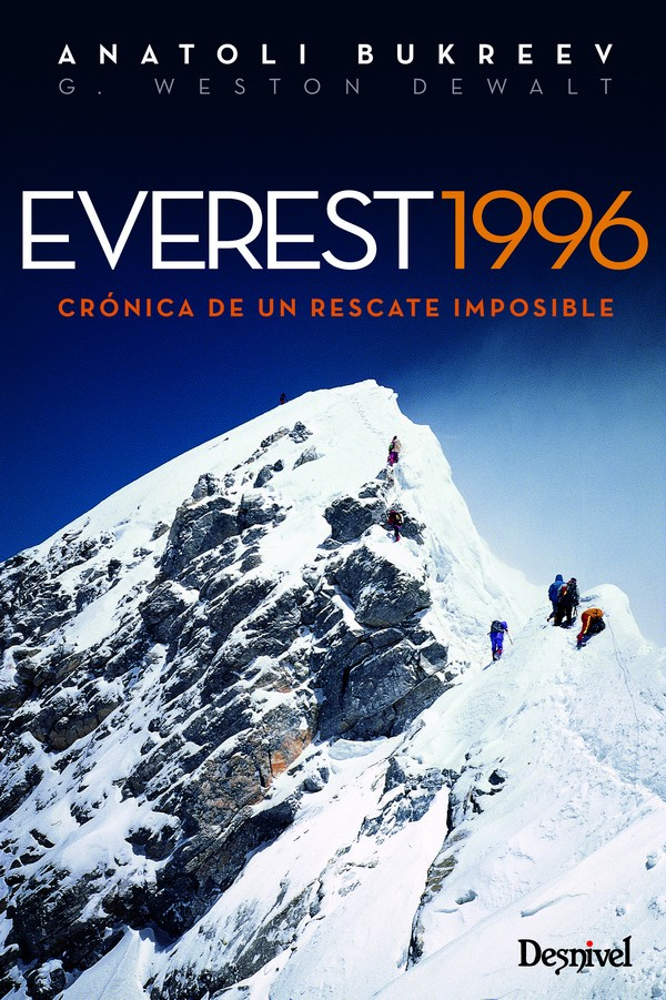 Portada del libreo Everest 1996. Crónica de un rescate imposible. [WEB]  ()