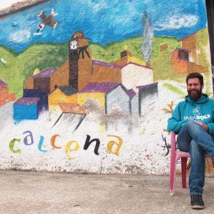 Diego Quesada. Albergue de Calcena. 2017  (Silvia García / Clownclimbing)