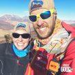 Suzie Imber y Maximo Kausch en el Cerro Negro Pabellón (6.070 m)  (Col. M. Kausch)
