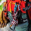 Material extra en previsión de un descenso complicado  (Javier Bueno)