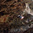 Adam Ondra en Climb free 9a de la cueva de Nezer (Israel)  (Col. A. Ondra)