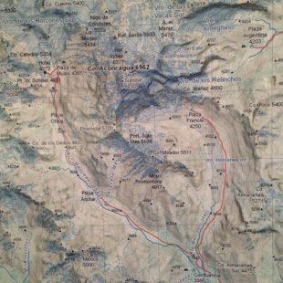 Cartografía del Aconcagua. 2018