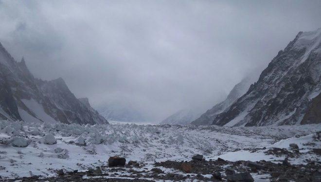 Así es el tiempo hoy en el campo base del K2 (27 Enero 2018)