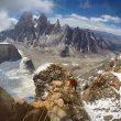 Vlad Kapusan y Torok Zsolt en la 'Variante rumana' del Cerro Adela Sur