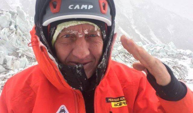 Denis Urubko. Expedición polaca al K2 invernal, enero 2018.