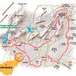 Mapa con la situación de Granada. La Gran Senda de los Primeros Pobladores