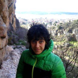 Olga Blázquez, autora de 'Cartografías nómadas'. 2018
