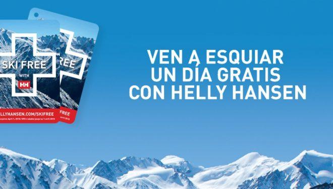 Ski free con Helly Hansen