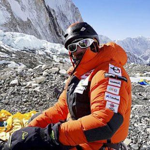 Alex Txikon en el campo 2 del Everest, 15 de enero 2108