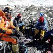 Alex Txikon y su equipo en el campo 2 del Everest, 15 de enero 2108