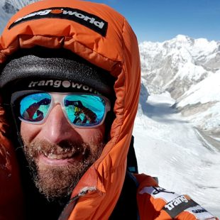 Álex Txikon en el Everest invernal. Feb2018