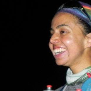 Daniela Sandoval nuevo récord femenino en el Aconcagua (20h. y 17min.).