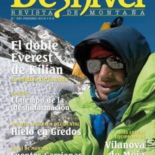 Portada revista Desnivel nº 380