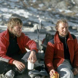 Jerzy Kukuczka y Artur Hajzer protagonistas primera ascension invernal del Annapurna (1987)
