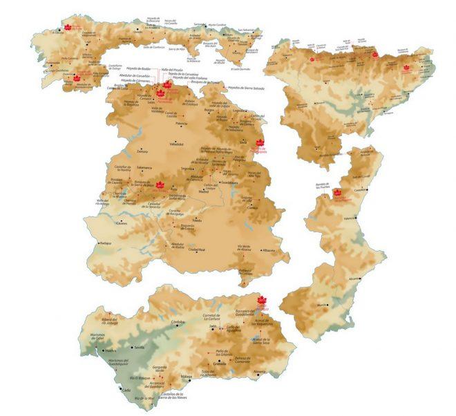 Mapa de otoño 2018