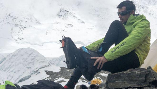 Kilian Jornet en el Everest 2017