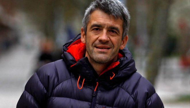 El fotógrafo y alpinista Javier Camacho. 2018