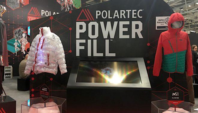 Stand de Polartec en Ispo 2018