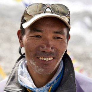 El guía nepalí Kami Rita Sherpa.