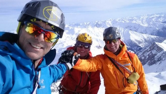 Thomas Bubendorfer, Max Sparber y Hans Zlöbl abren ' Das dritte Leben' en la cara sur del Grossglockner (3.798 m), la montaña más alta de Austria. 2018