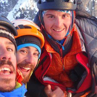 Thomas Auvaro, Jeremy Fino y Antoine Rolle firman dos aperturas en las Revelation Mountains de Alaska.
