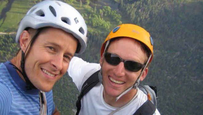 Jason Wells (izq) y Tim Klein.