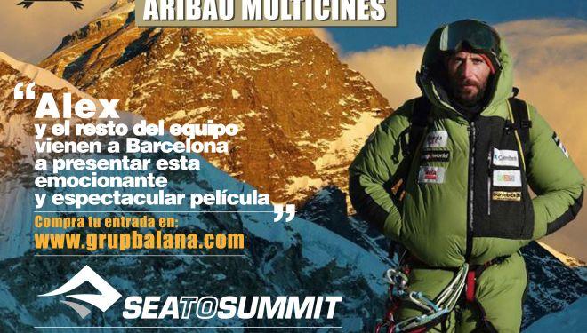 """Cartel película """"Everest, un reto sobrehumano"""" de Alex Txikon"""