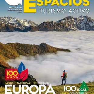 Portada de la revista Grandes Espacios nº 245. Especial Picos de Europa 100 ideas